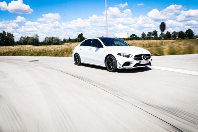 2020 Mercedes-AMG A35 Sedan Rolling