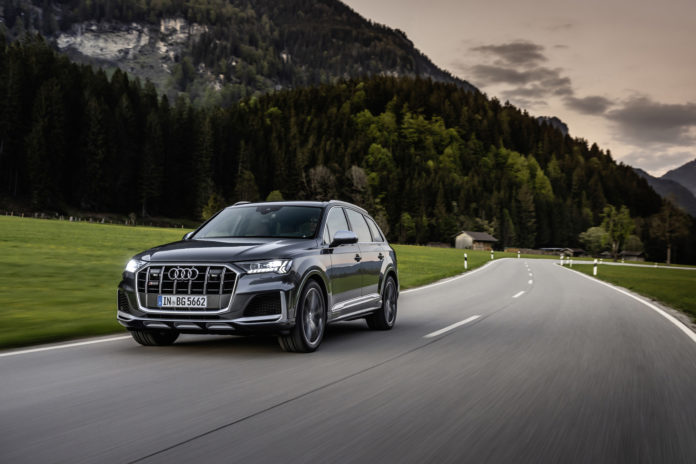 Audi Expands SUV Offerings with Petrol SQ7, SQ8