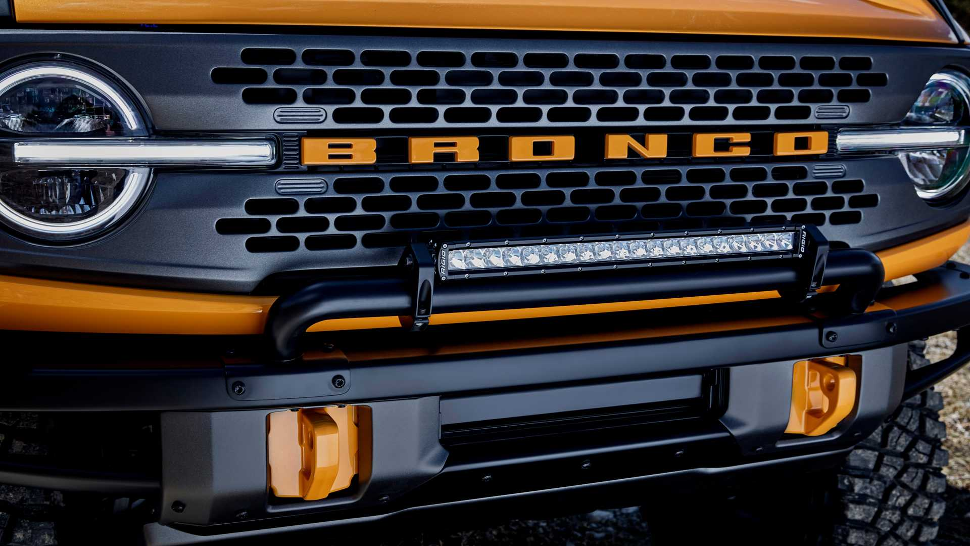 2021 Ford Bronco Grille