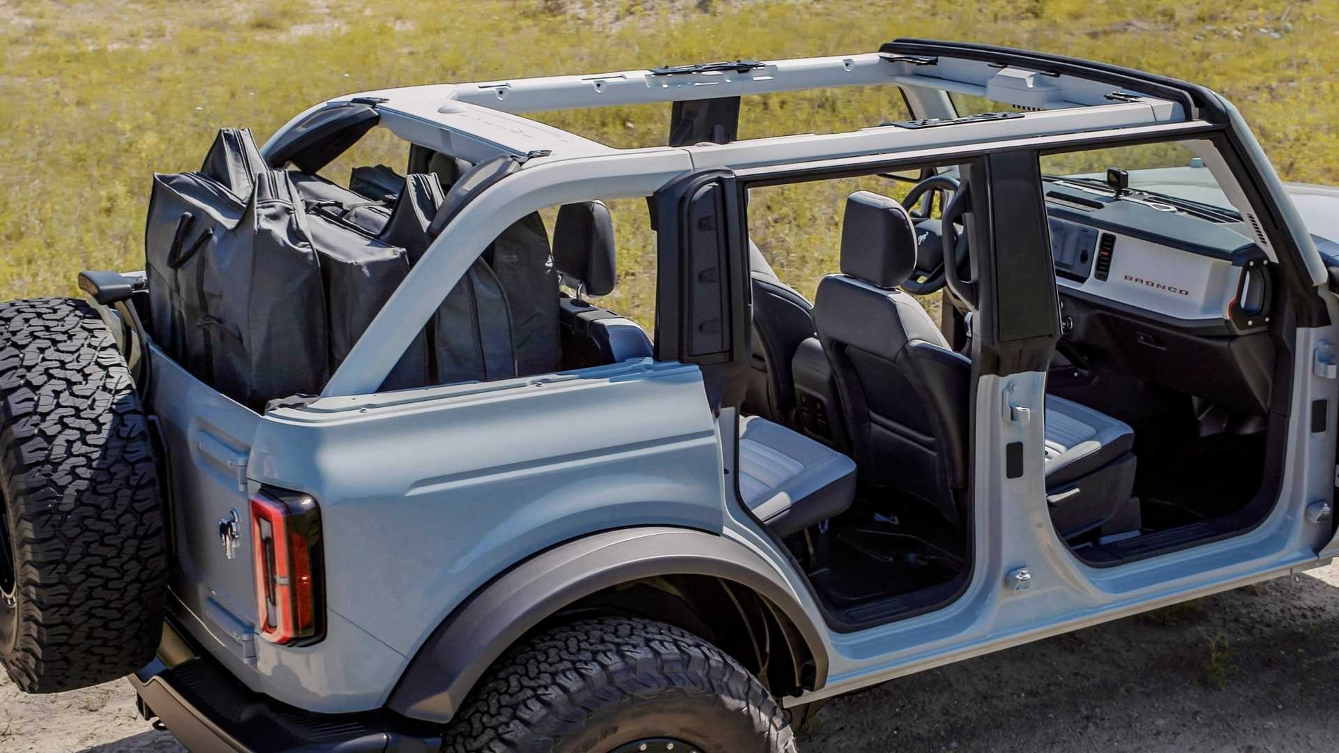 2021 Ford Bronco Open Top