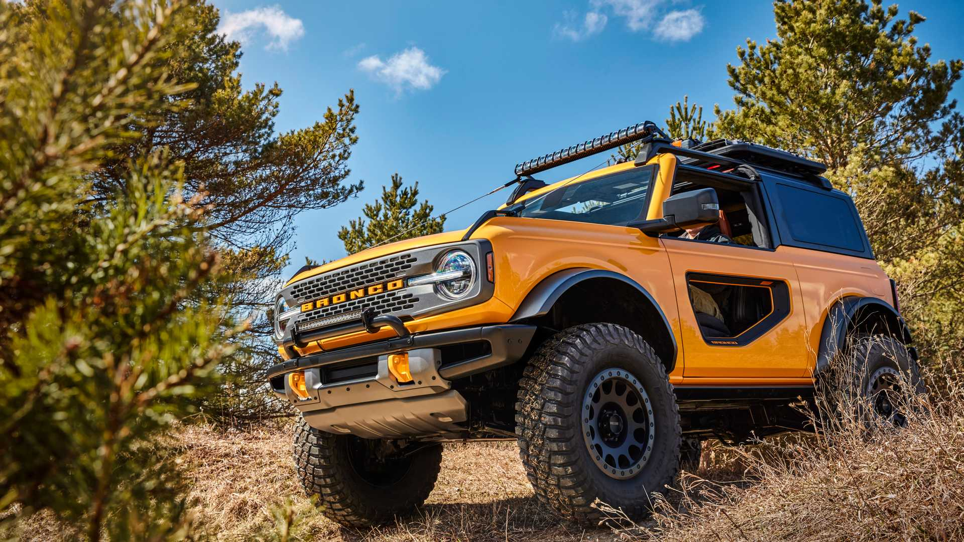 2021 Ford Bronco Wheels