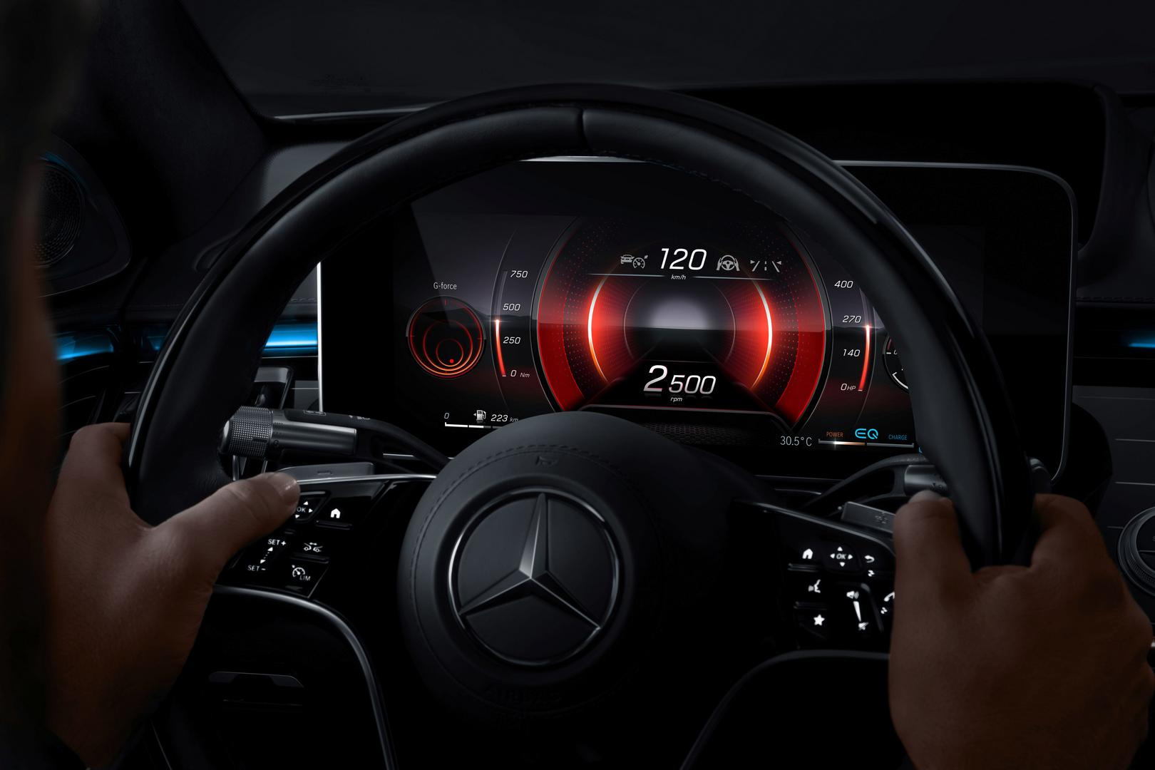 2021 Mercedes-Benz S-Class Driver Steering Wheel