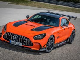 Magma Beam Mercedes-AMG GT Black Series
