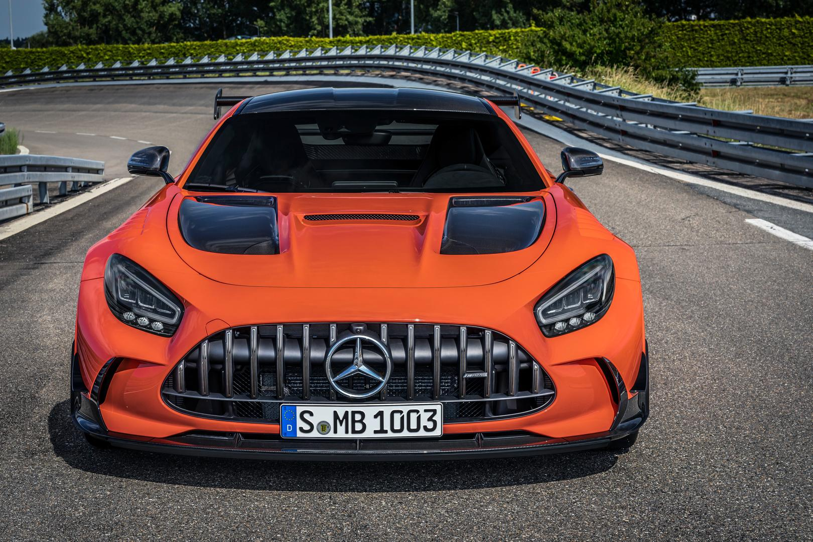 2021 Mercedes-AMG GT Black Series Front