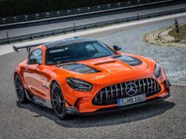 Orange AMG GT Black Series Wheels