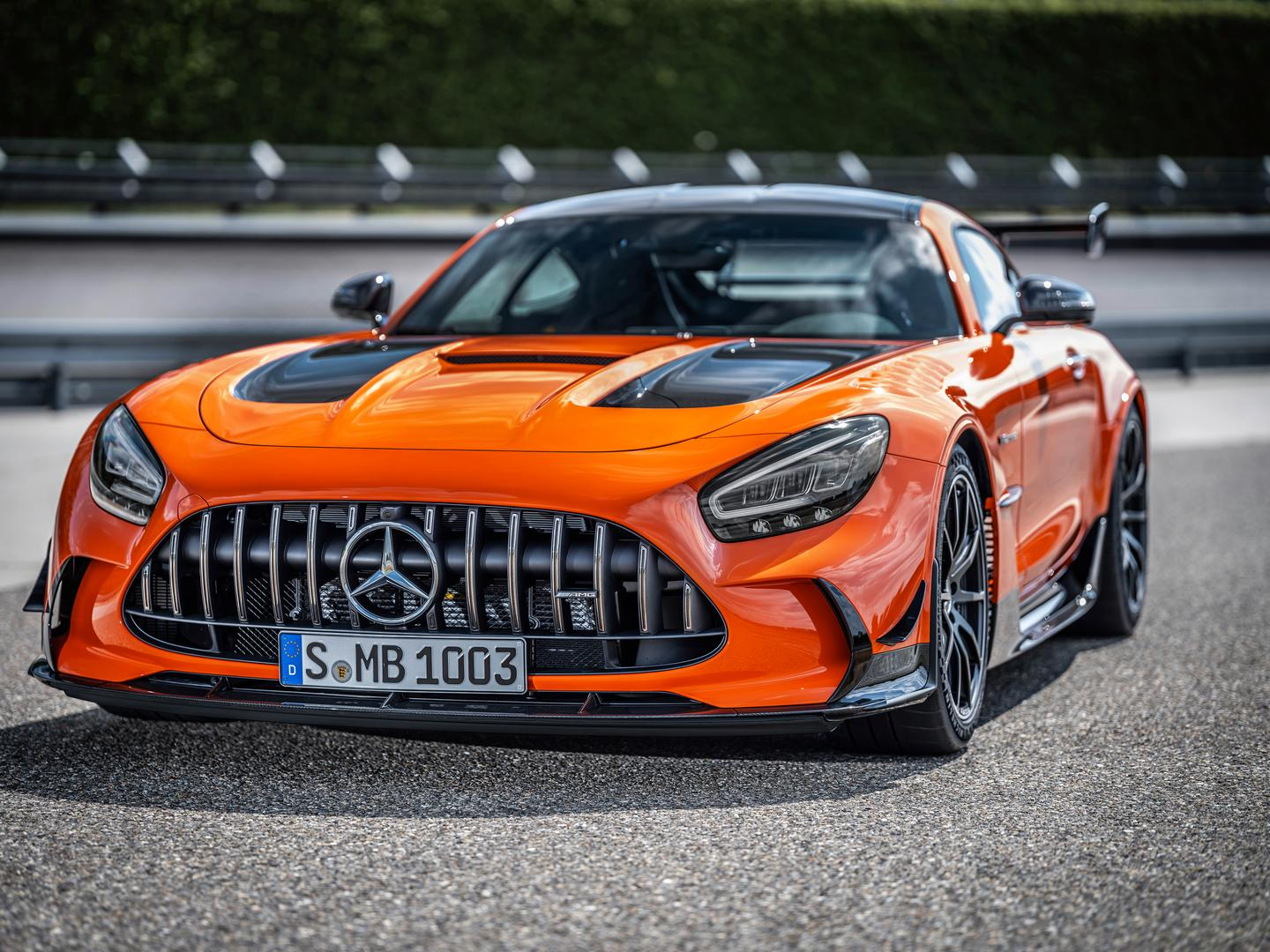 Orange AMG GT Black Series Wheels Price