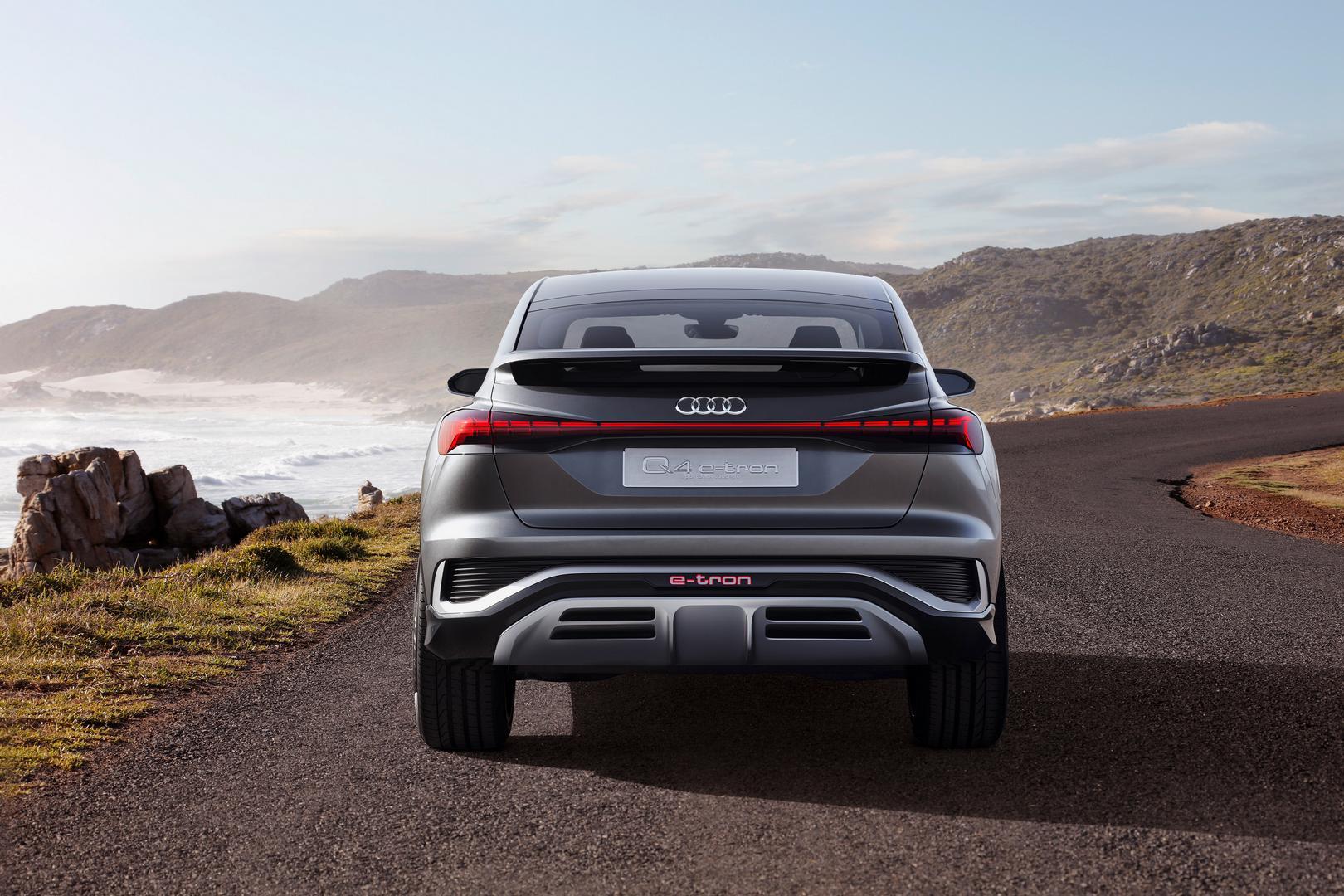 Audi Q4 Sportback e-tron Rear