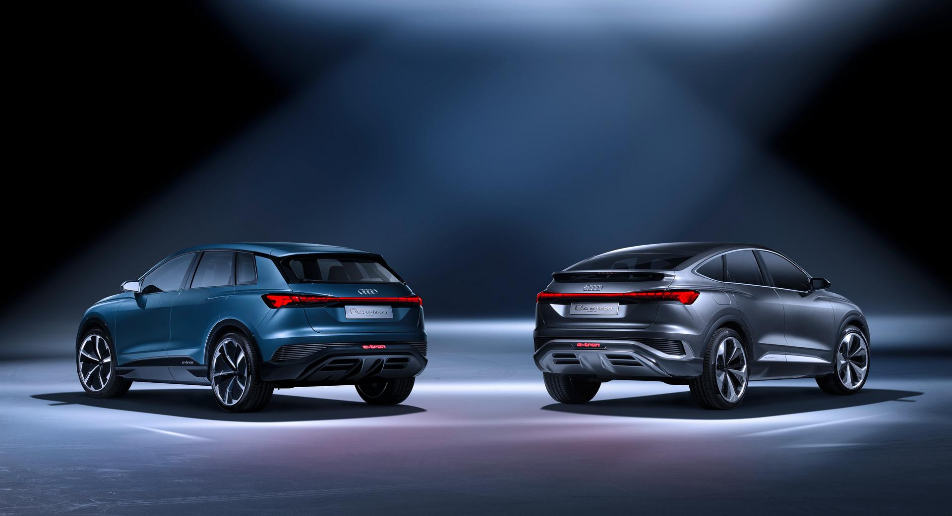 Audi Q4 e-tron concept / Audi Q4 Sportback and SUV