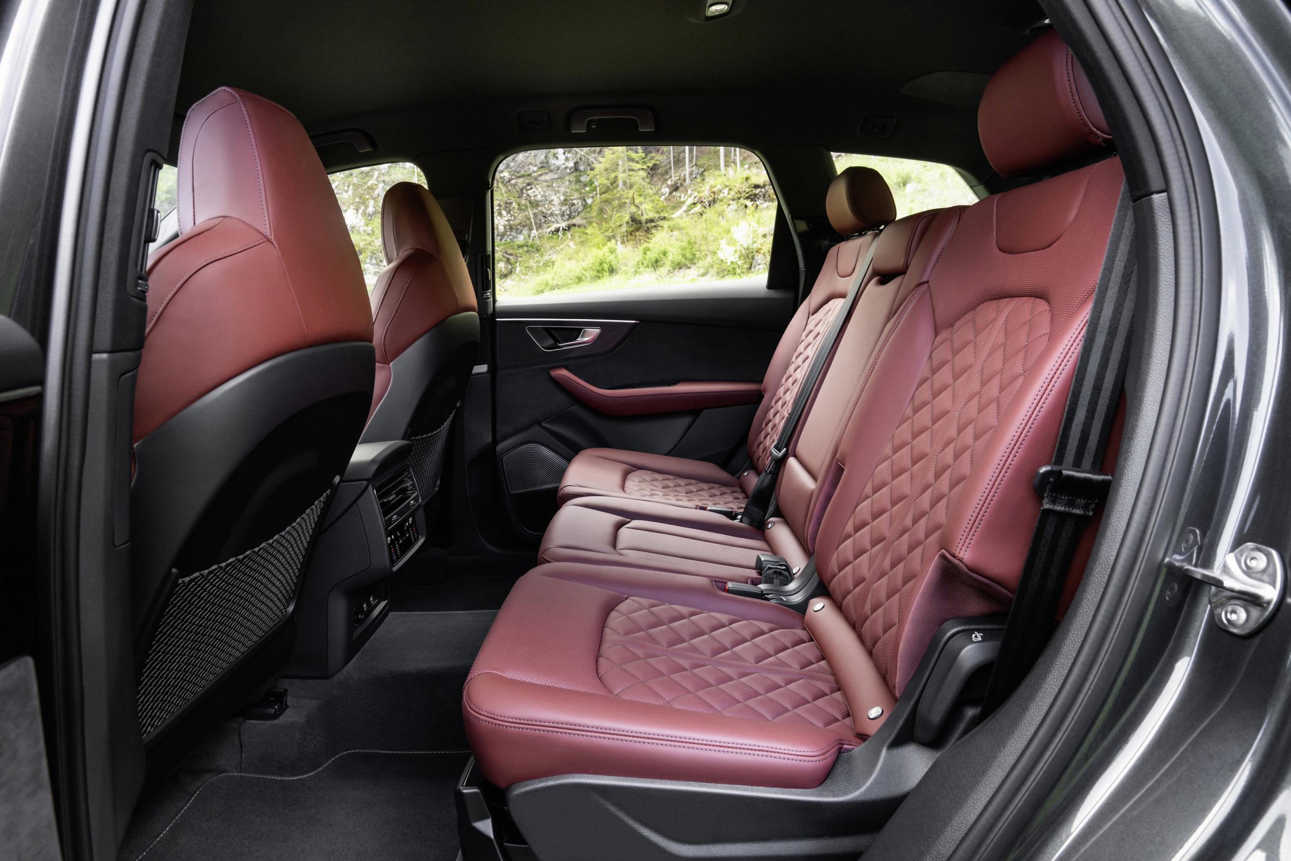 Audi SQ7 TFSI Rear Seats