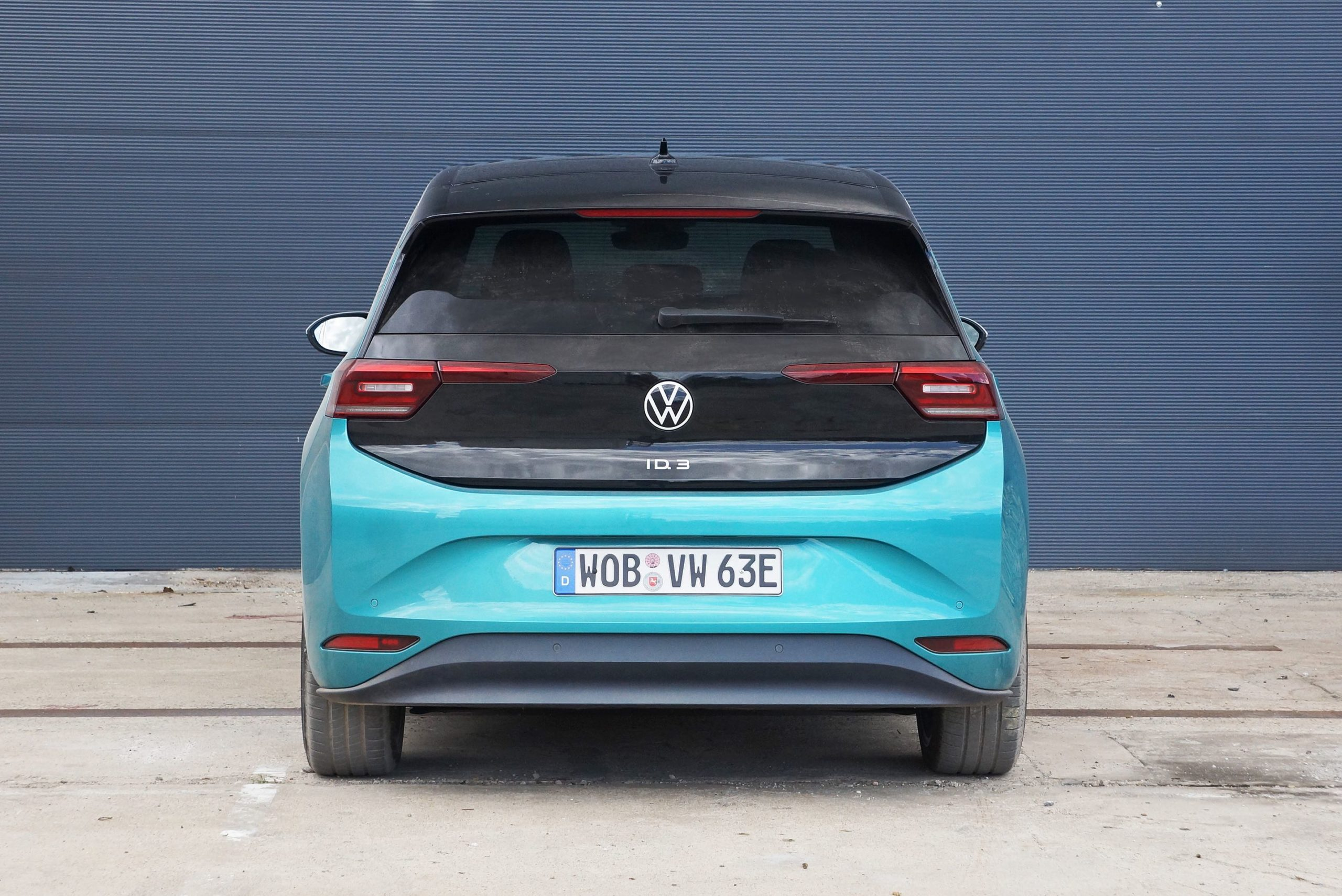 Blue VW ID 3