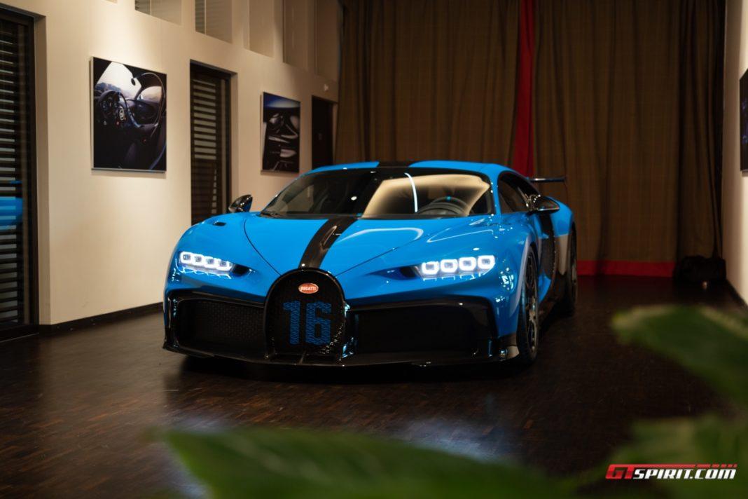 Bugatti Pur Sport in Munich