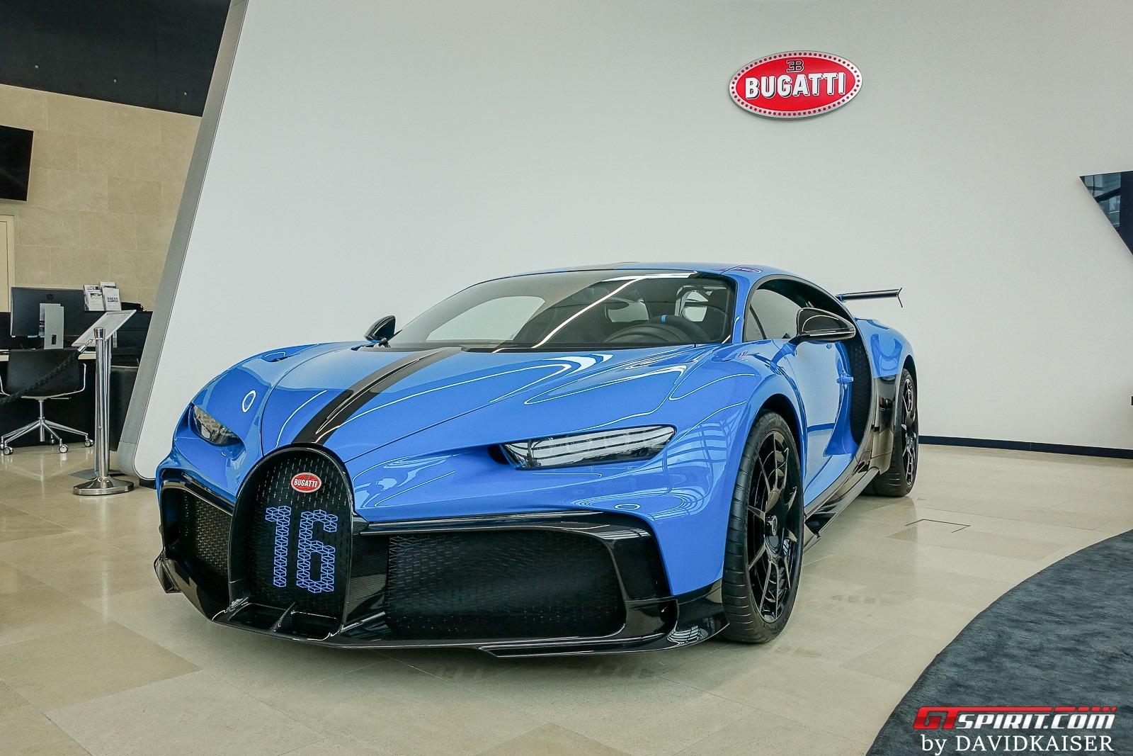 Bugatti Pur Sport in Zurich