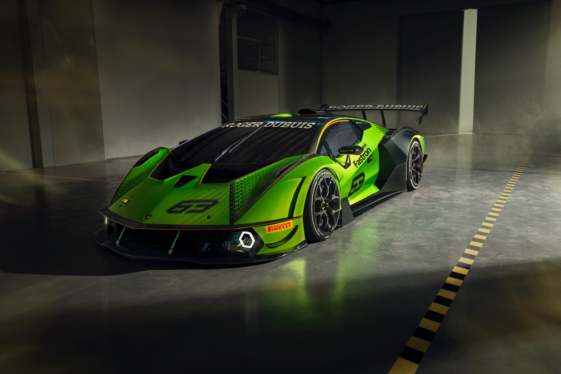 Lamborghini Essenza SCV12 Unveiled: Hardcore, Track-Only!