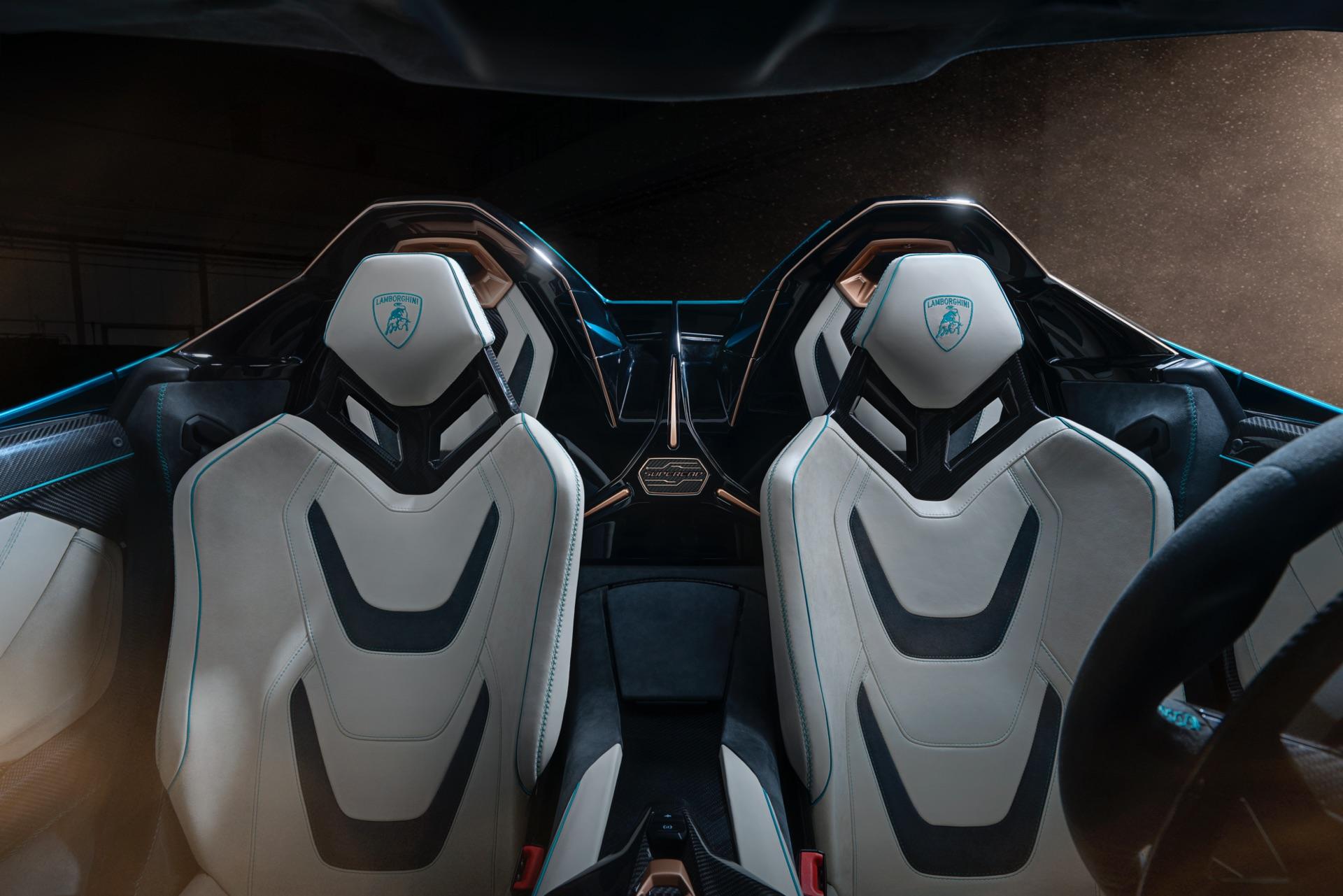 Lamborghini Sian Roadster Seats