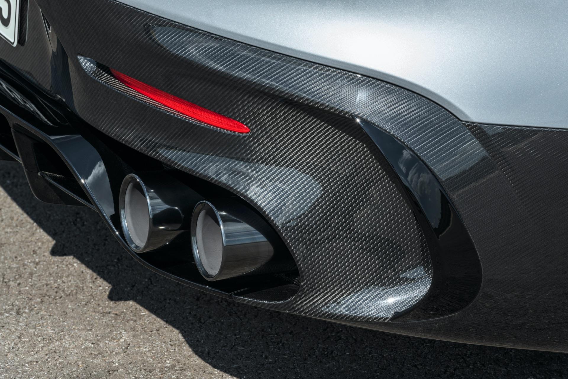Mercedes-AMG GT Black Series Exhaust