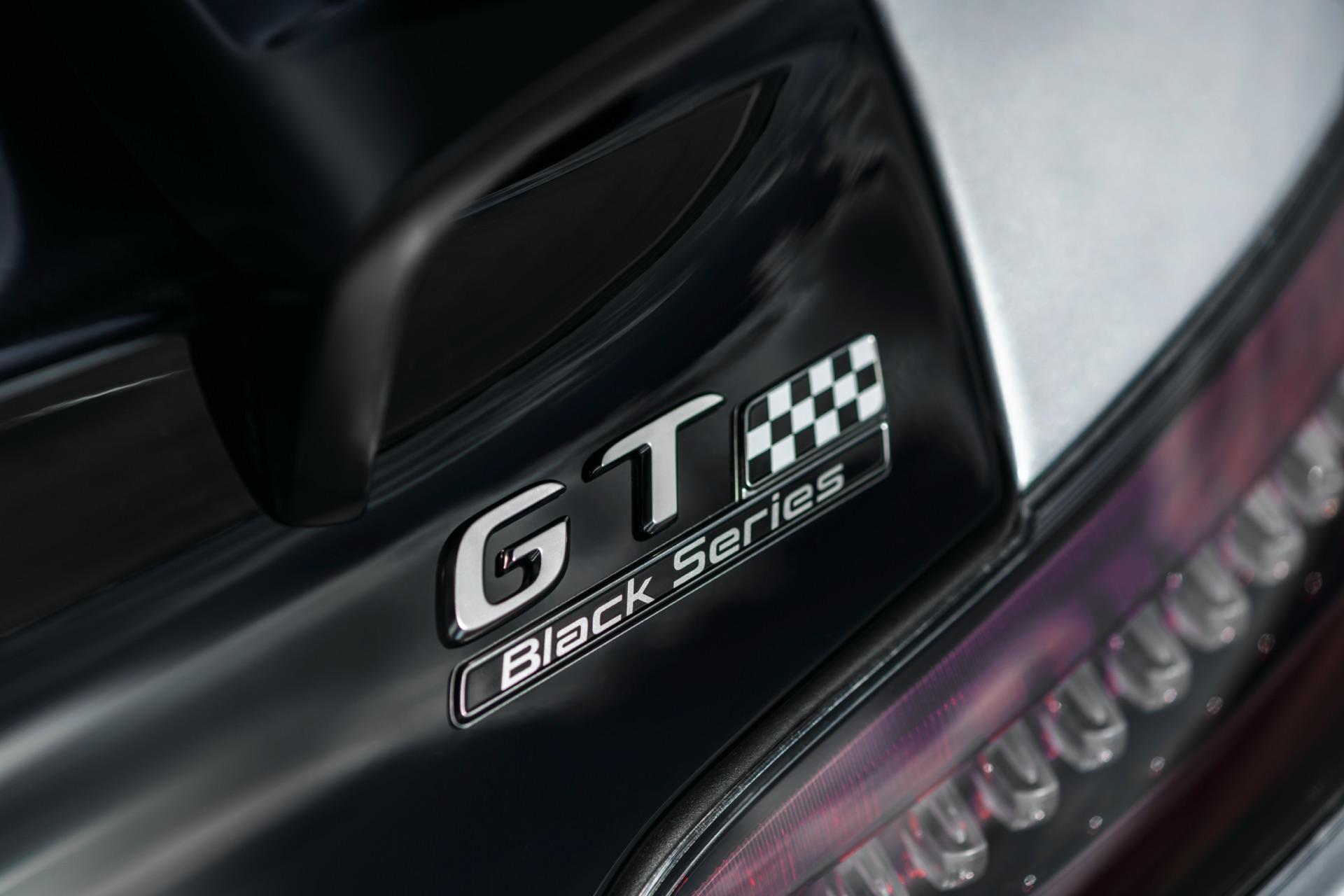 Mercedes-AMG GT Black Series Badge