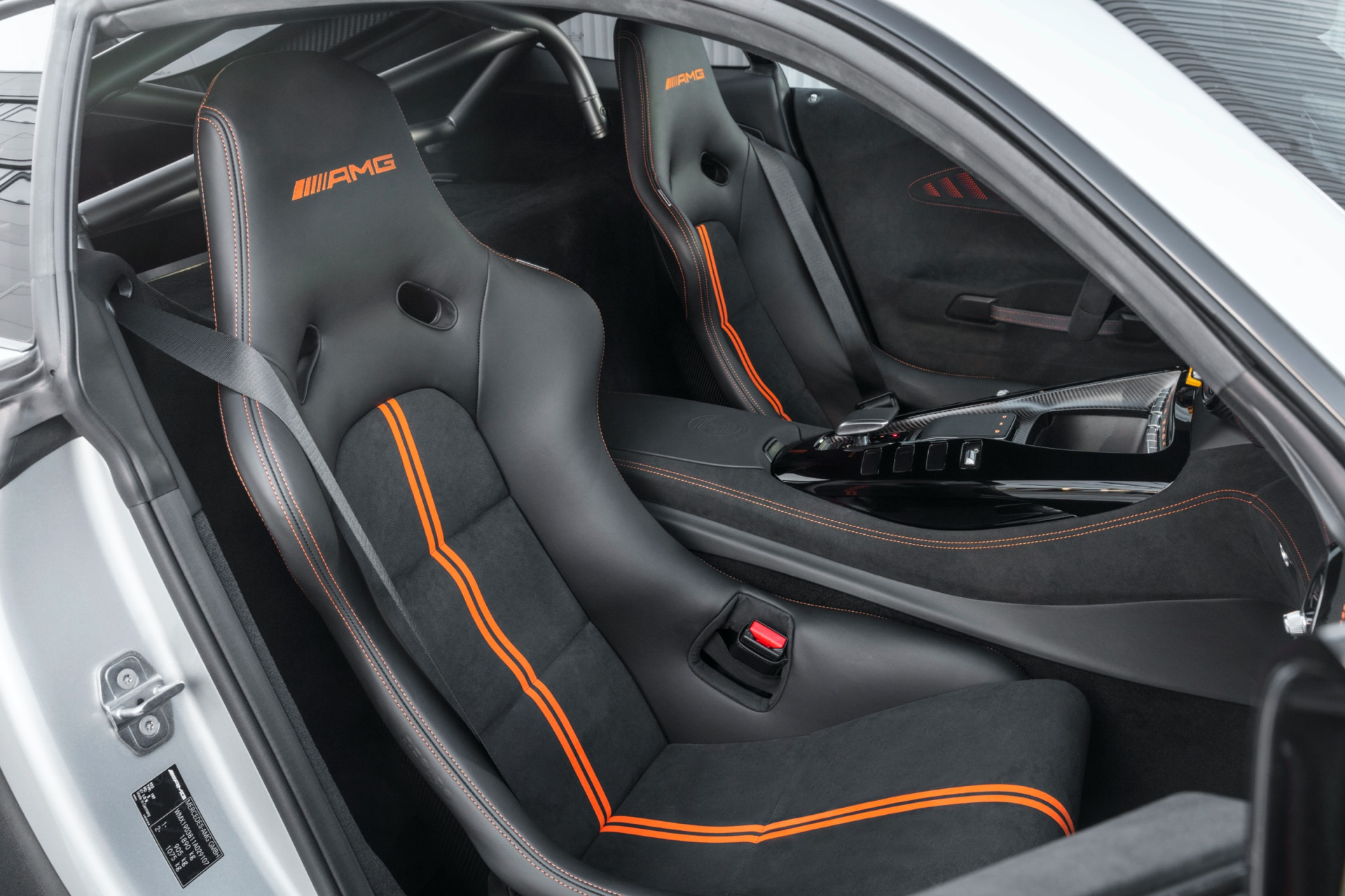 Mercedes-AMG GT Black Series Seats