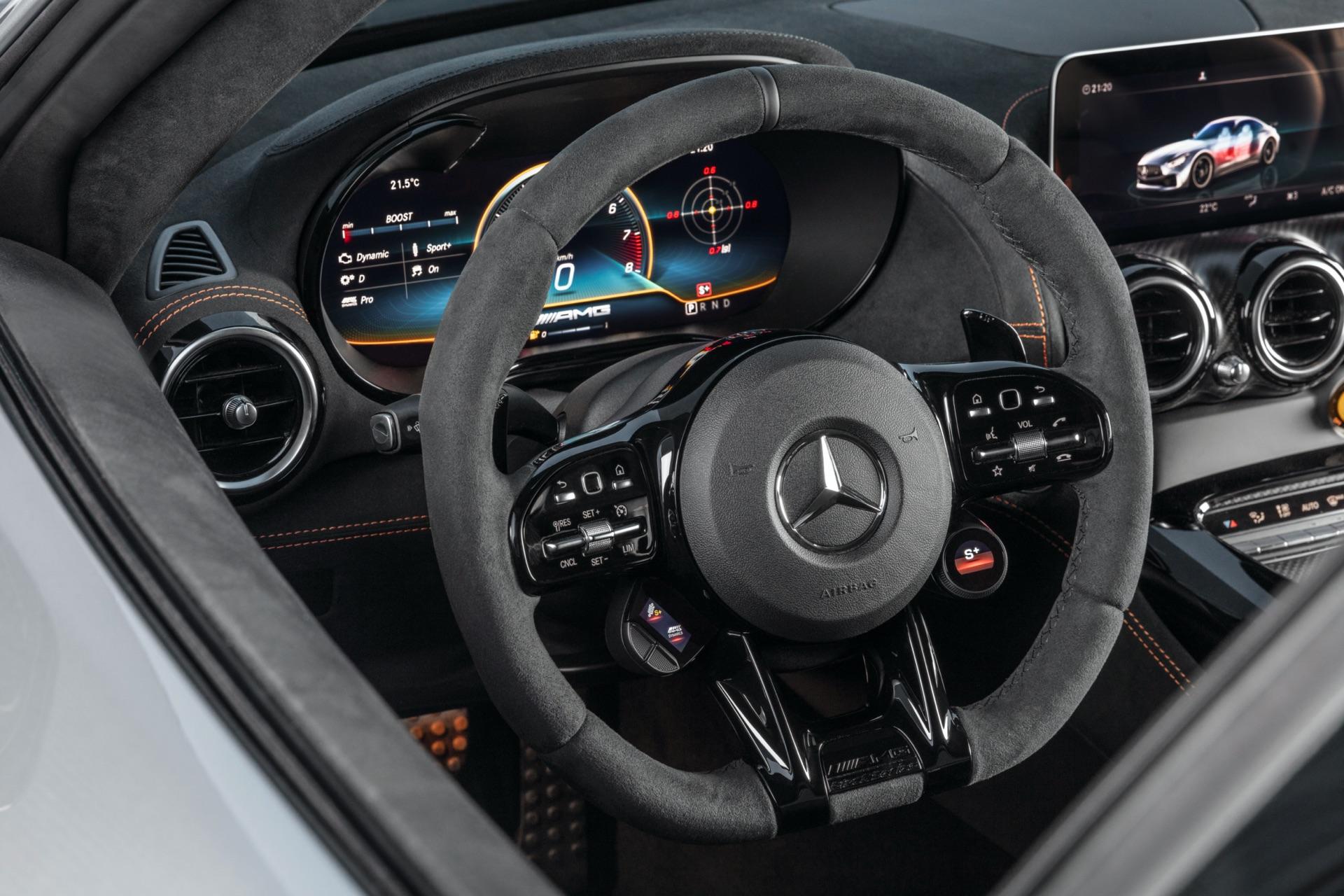 Mercedes-AMG GT Black Series Steering Wheel