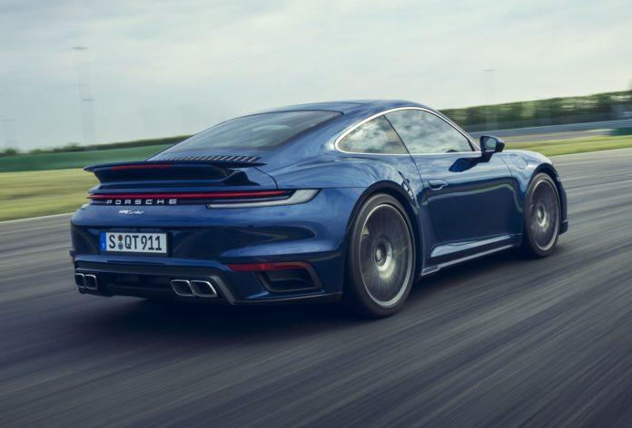 2021 Porsche 911 Turbo Rear