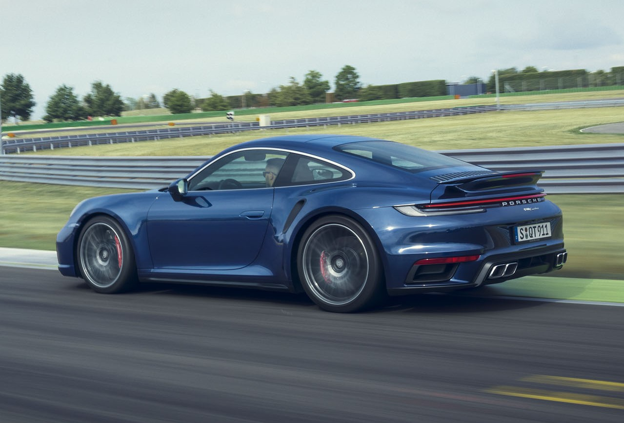 2021 Porsche 911 Turbo Side