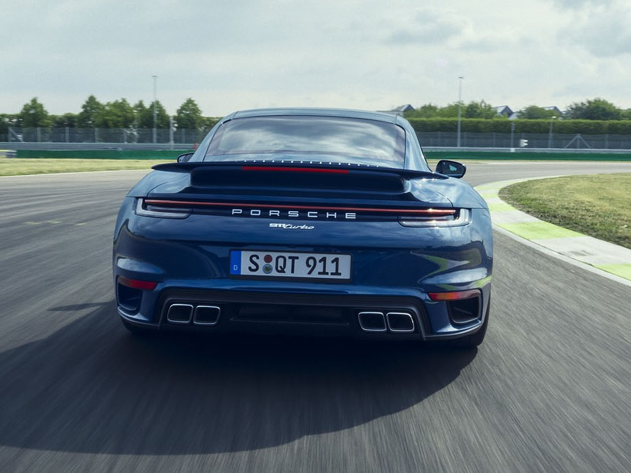 2021 Porsche 911 Turbo Rear Wing