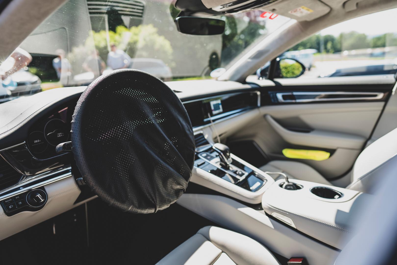 Porsche Panamera Facelift Interior