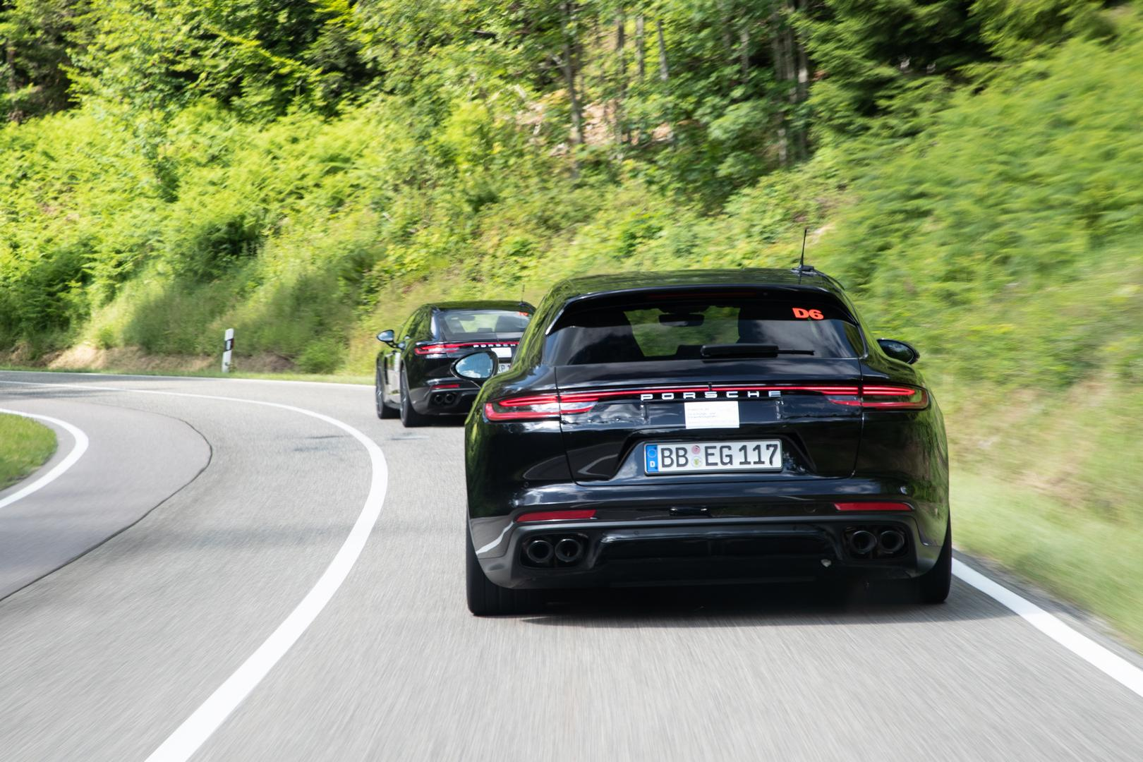 Porsche Panamera Facelift Rear
