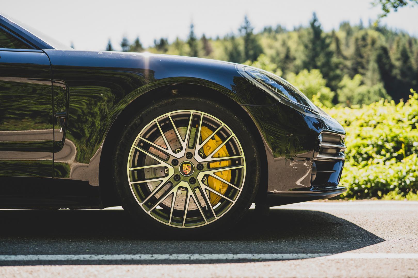 Porsche Panamera Facelift Wheels