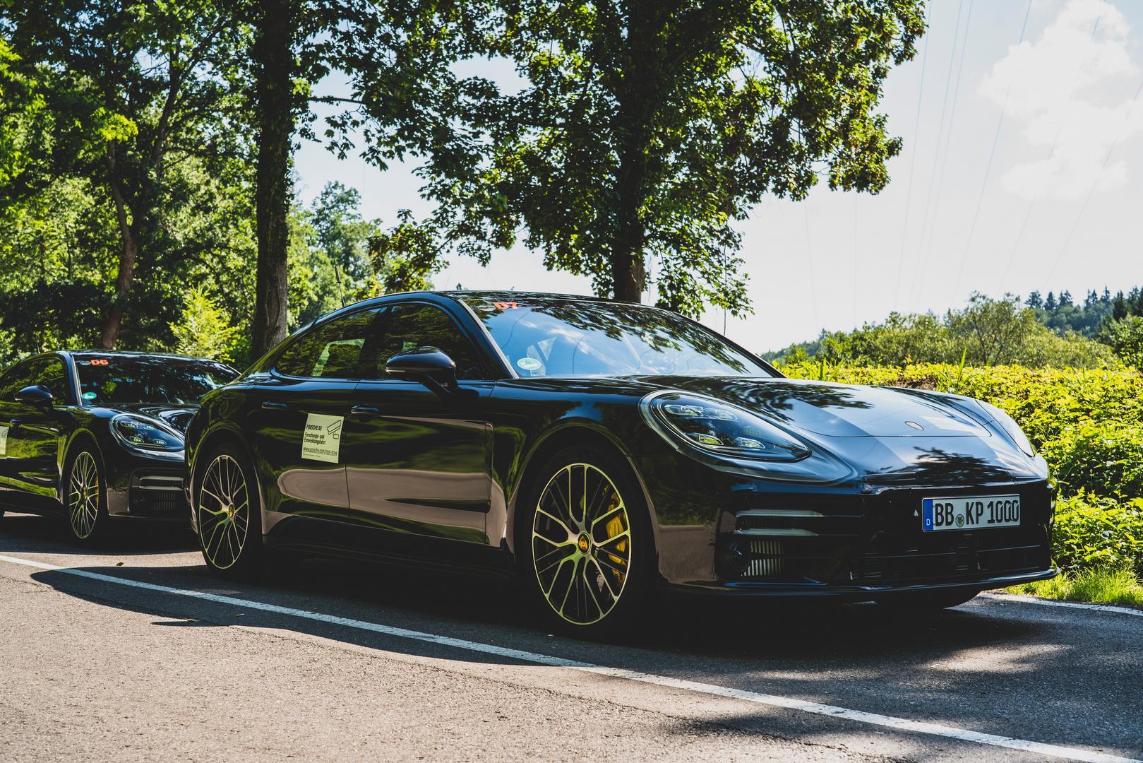 Porsche Panamera Facelift