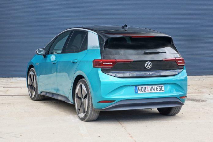VW ID 3 Rear