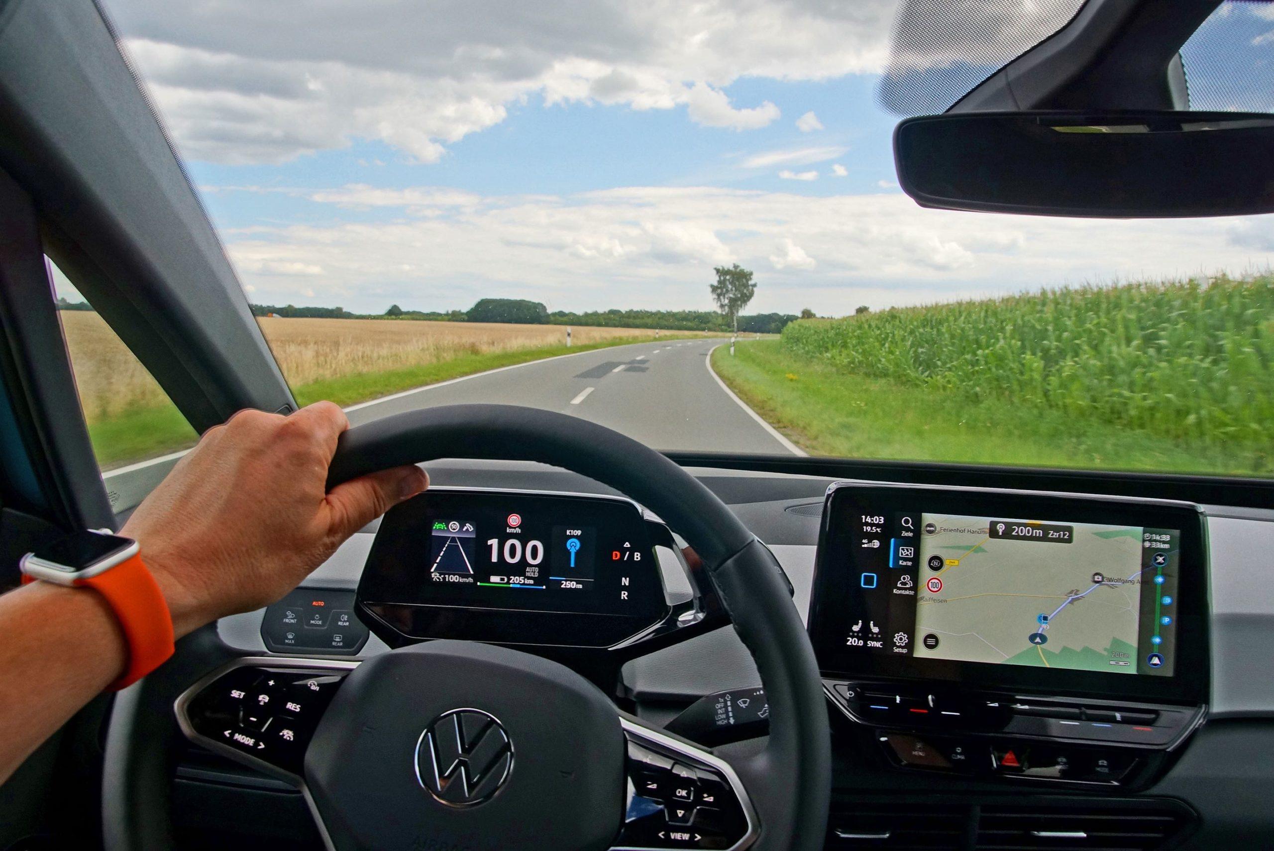 VW ID 3 Steering Wheel