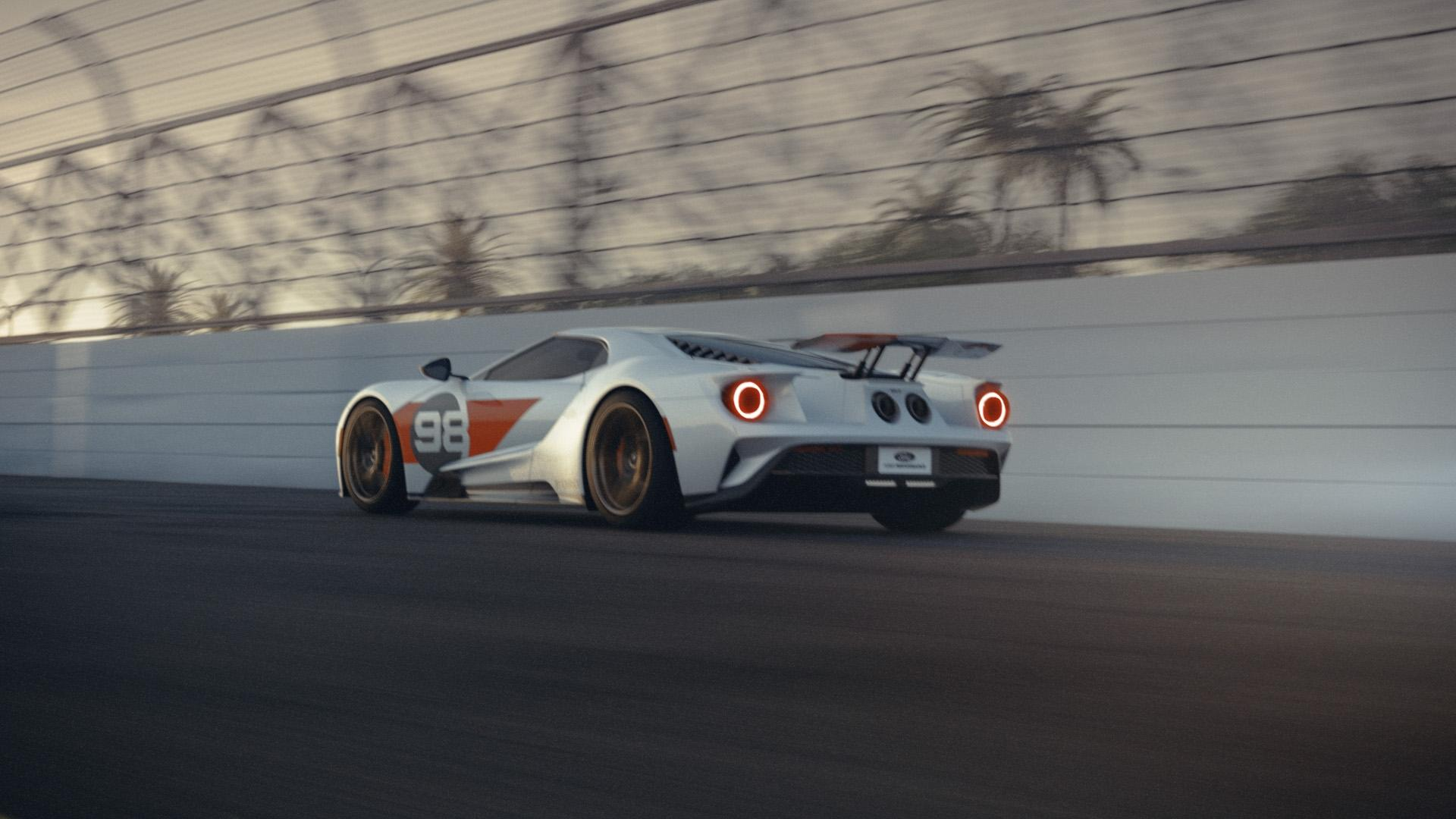 2021 Ford GT Heritage Edition Rear