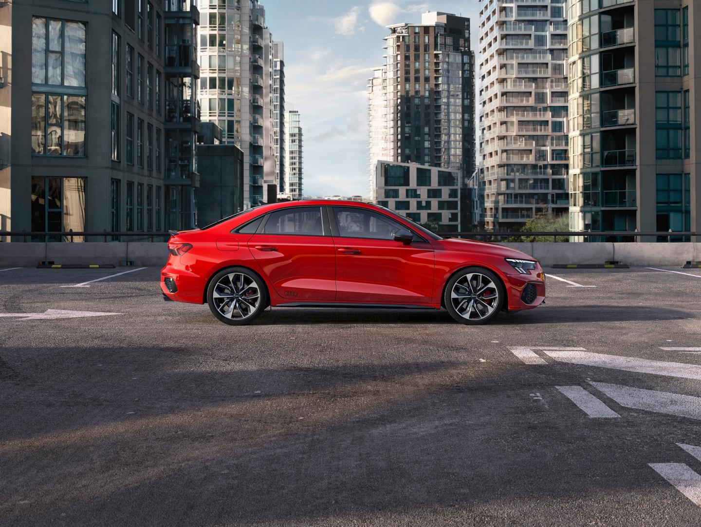 Audi S3 Sedan Side