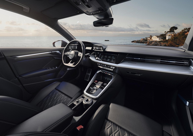 Audi S3 Sedan Cockpit