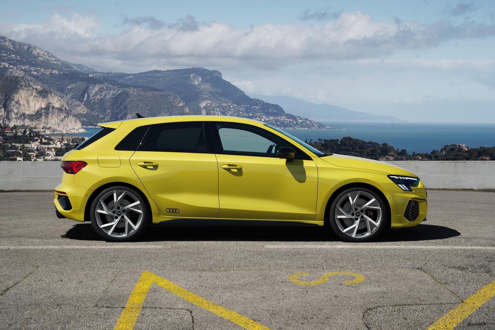 Audi S3 Sportback Side