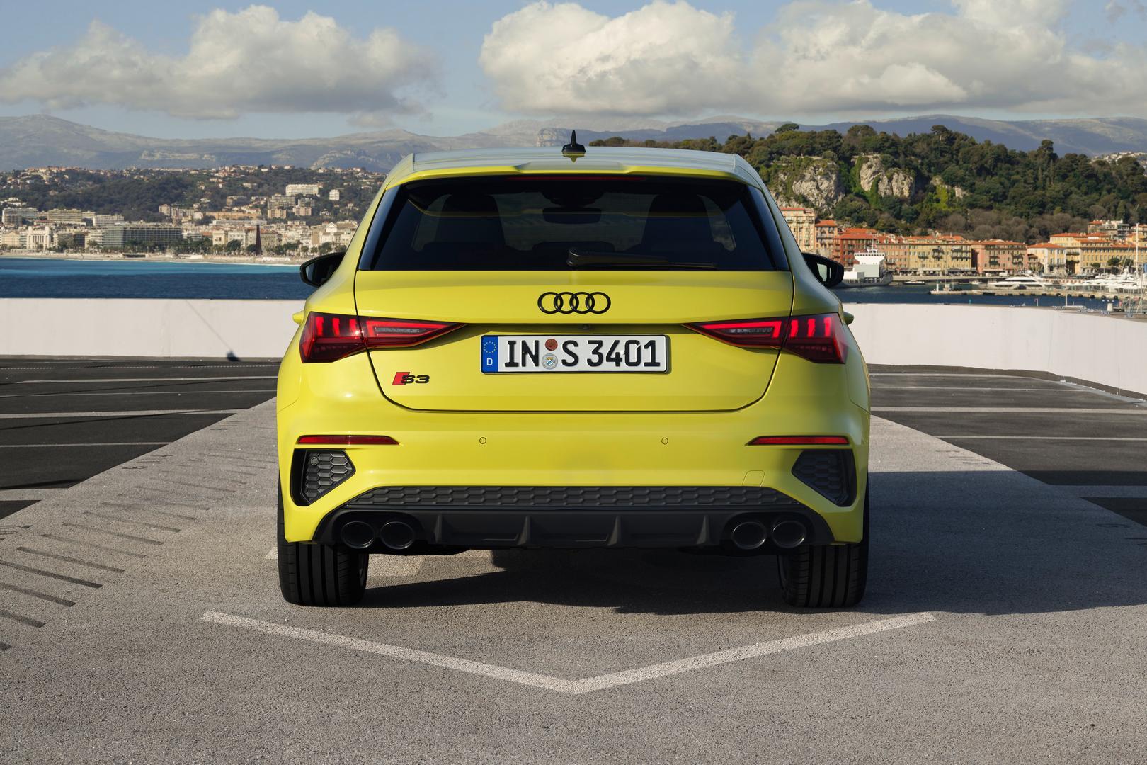 2021 Audi S3 Sportback Rear