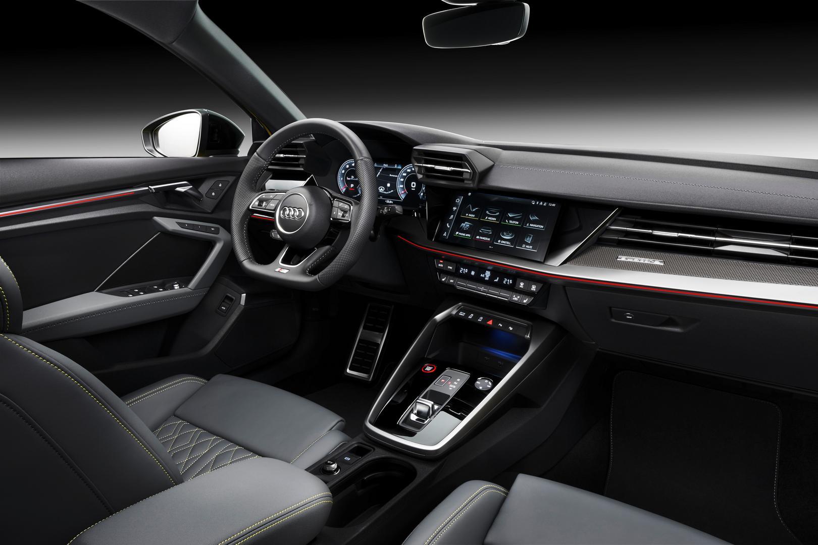 Audi S3 Sportback Interior