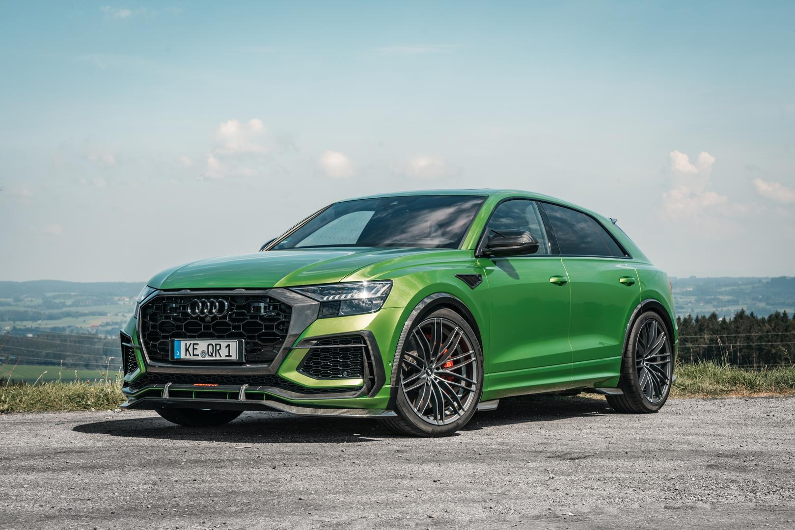 Colourful ABT RS Q8-R Pushes SUV into Supercar Territory