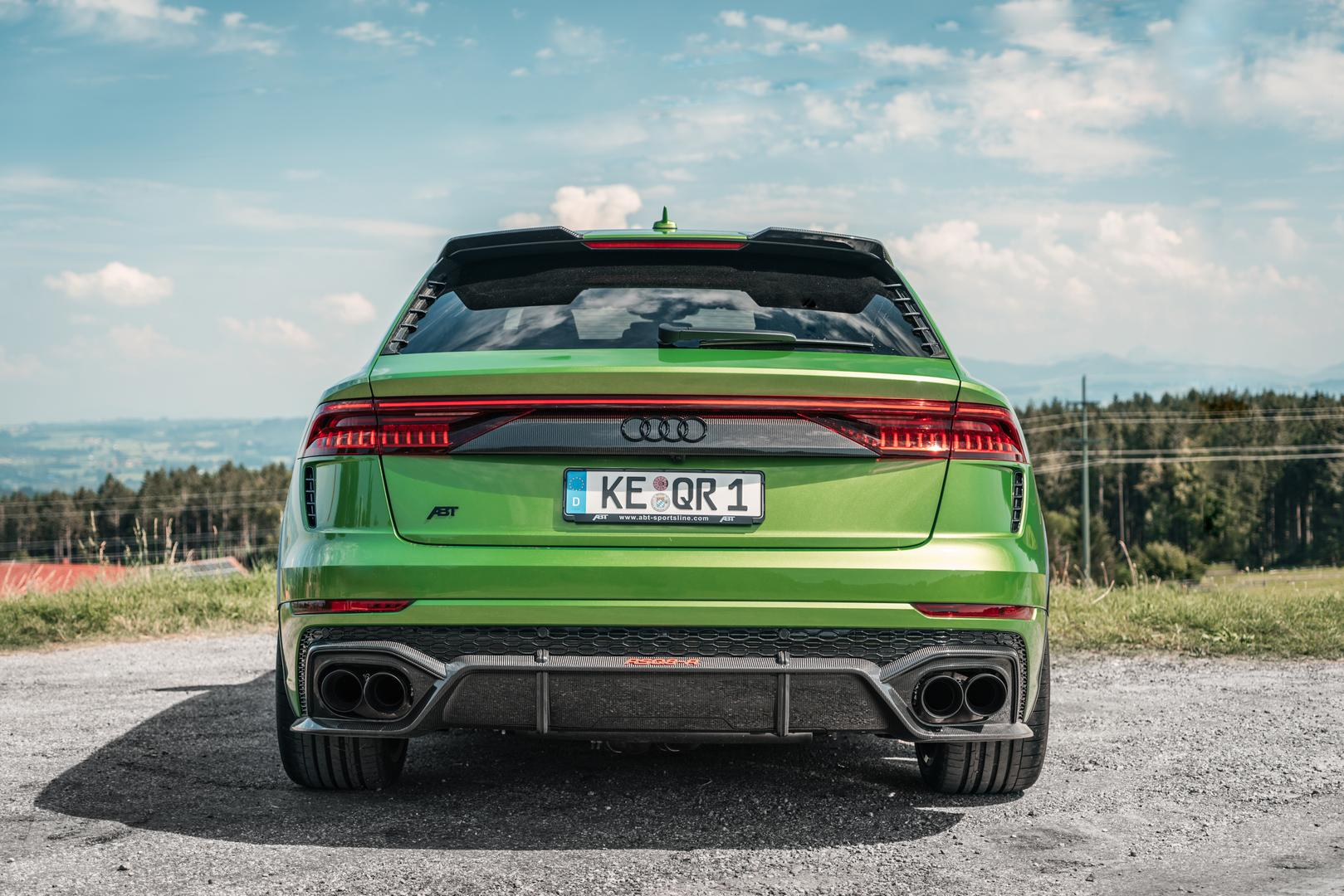 Audi RS Q8 Rear Lights