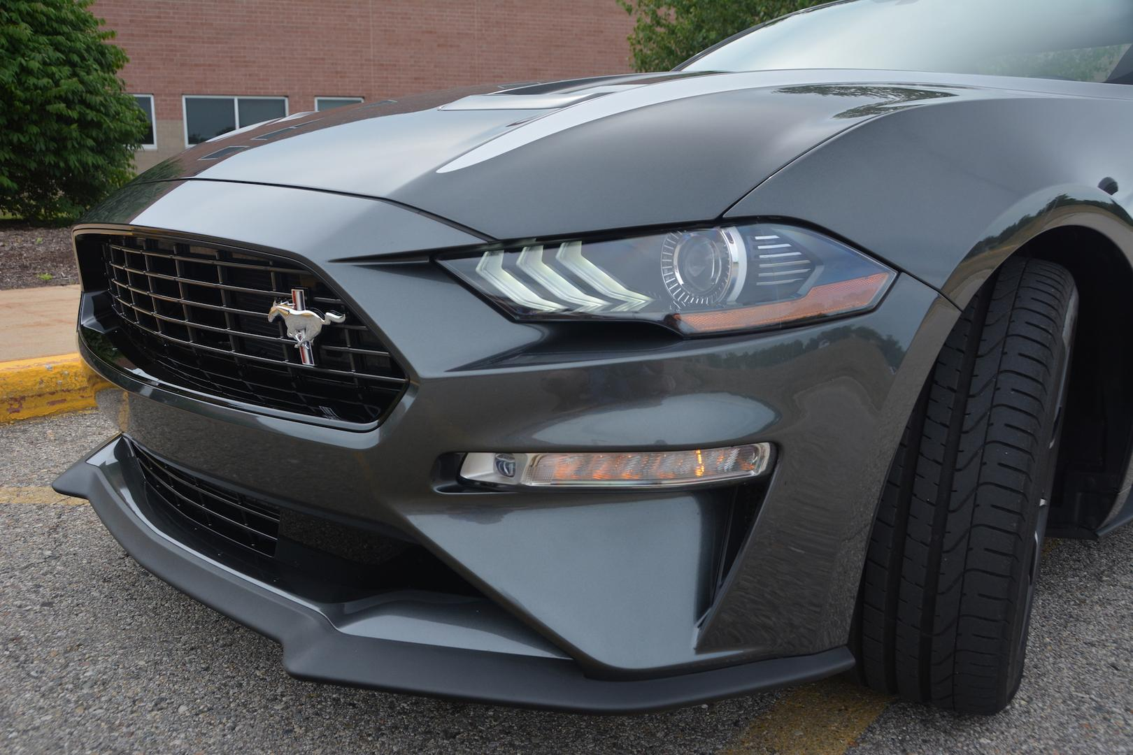 Ford Mustang EcoBoost Headlights