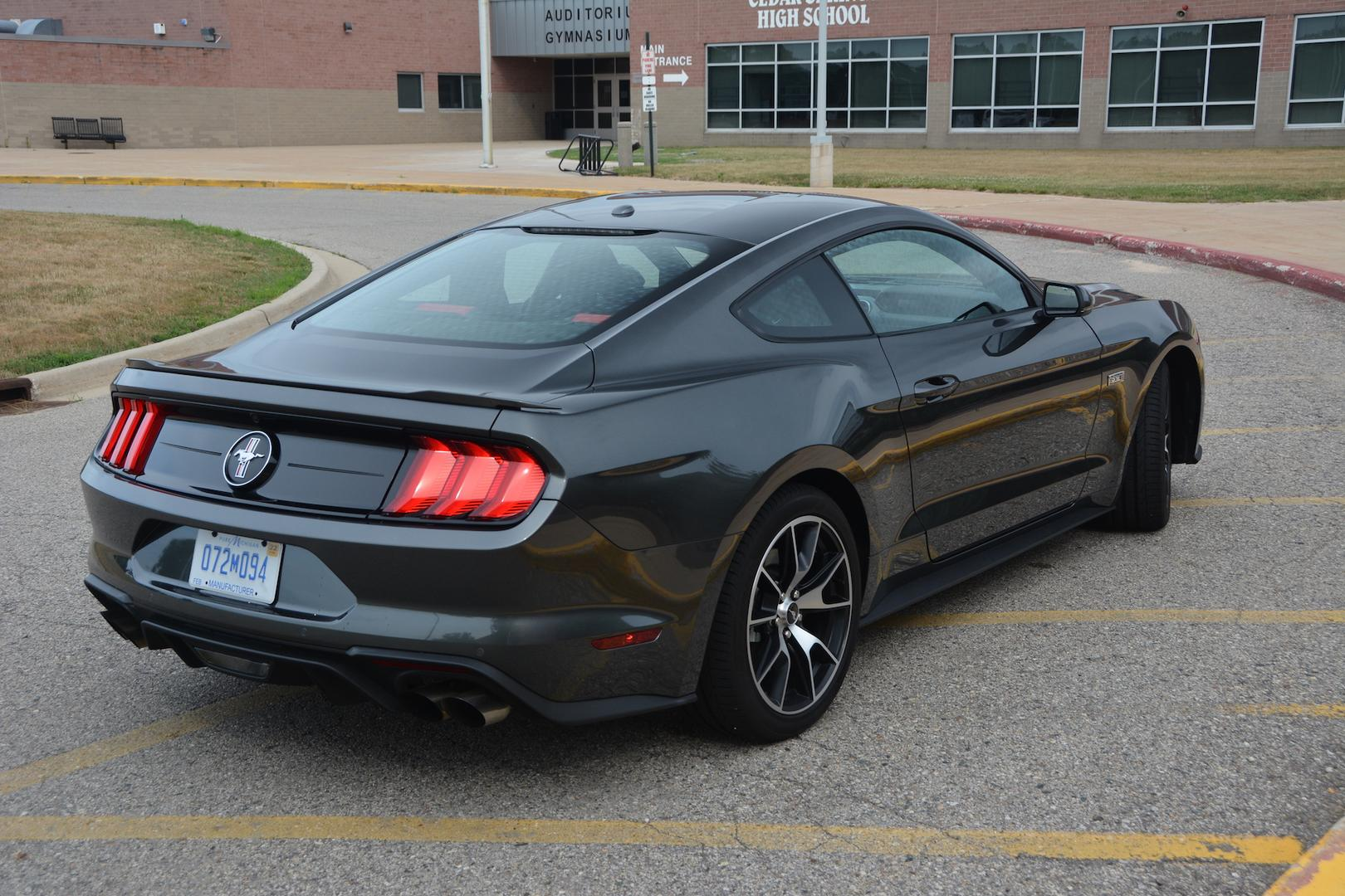 Ford Mustang EcoBoost Rear Quarter