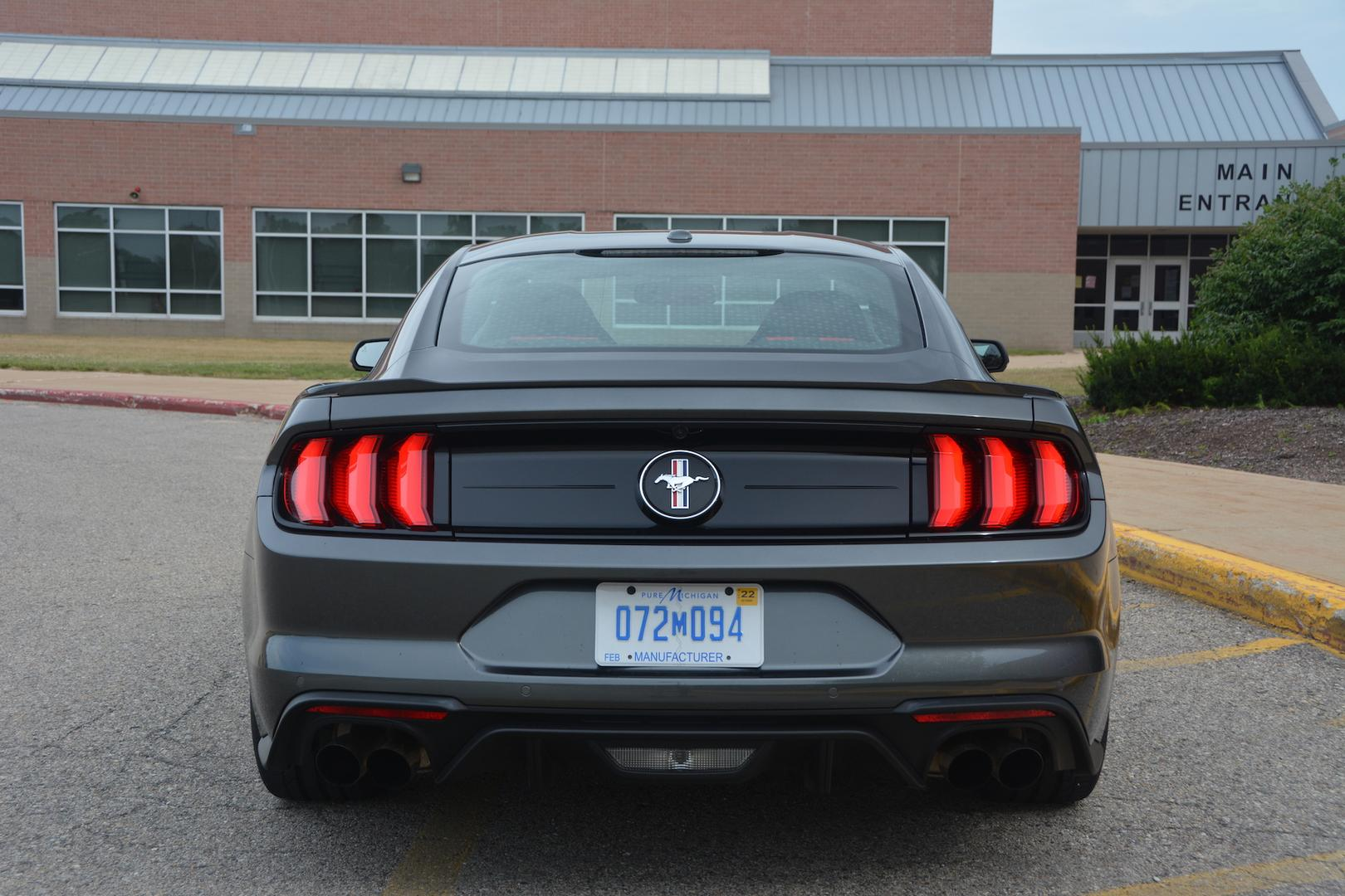 Ford Mustang EcoBoost Rear