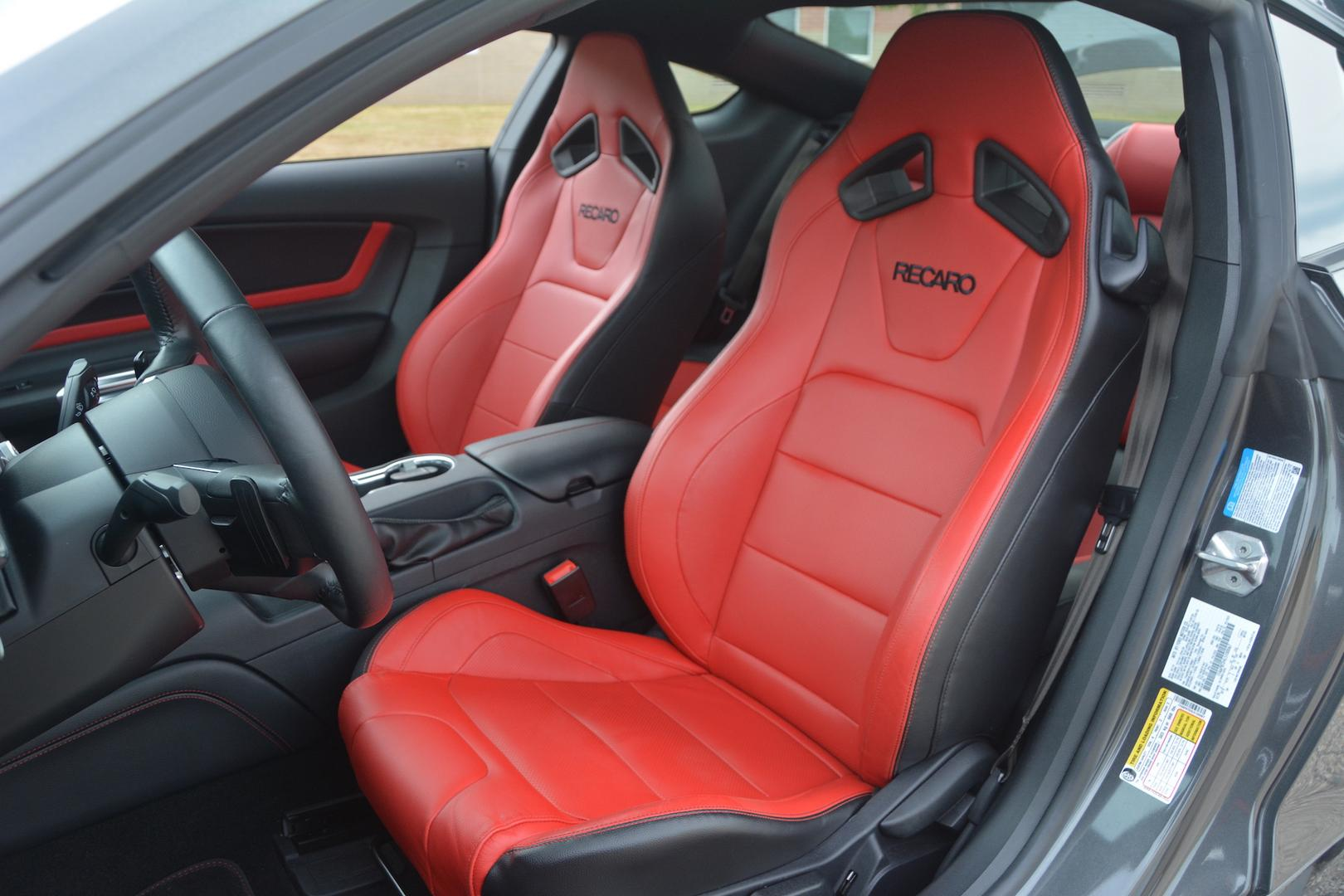 Ford Mustang EcoBoost Seats