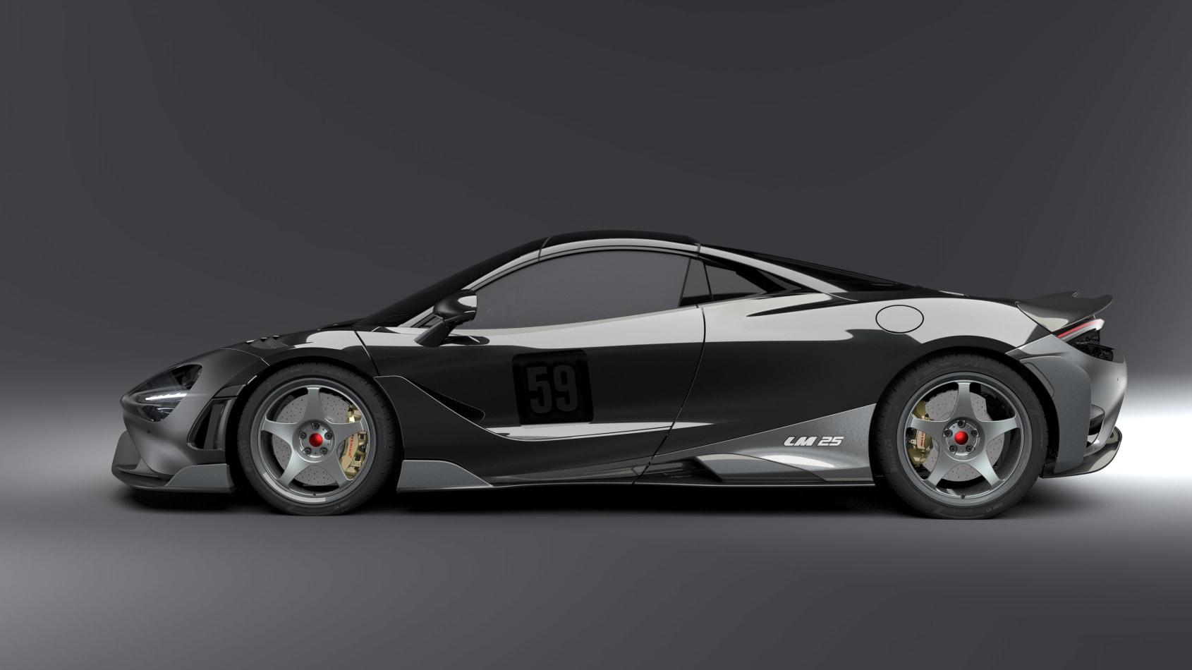 Lanzante McLaren 600LT Side