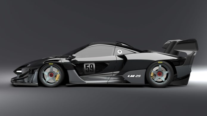 Lanzante LM 25 Senna GTR