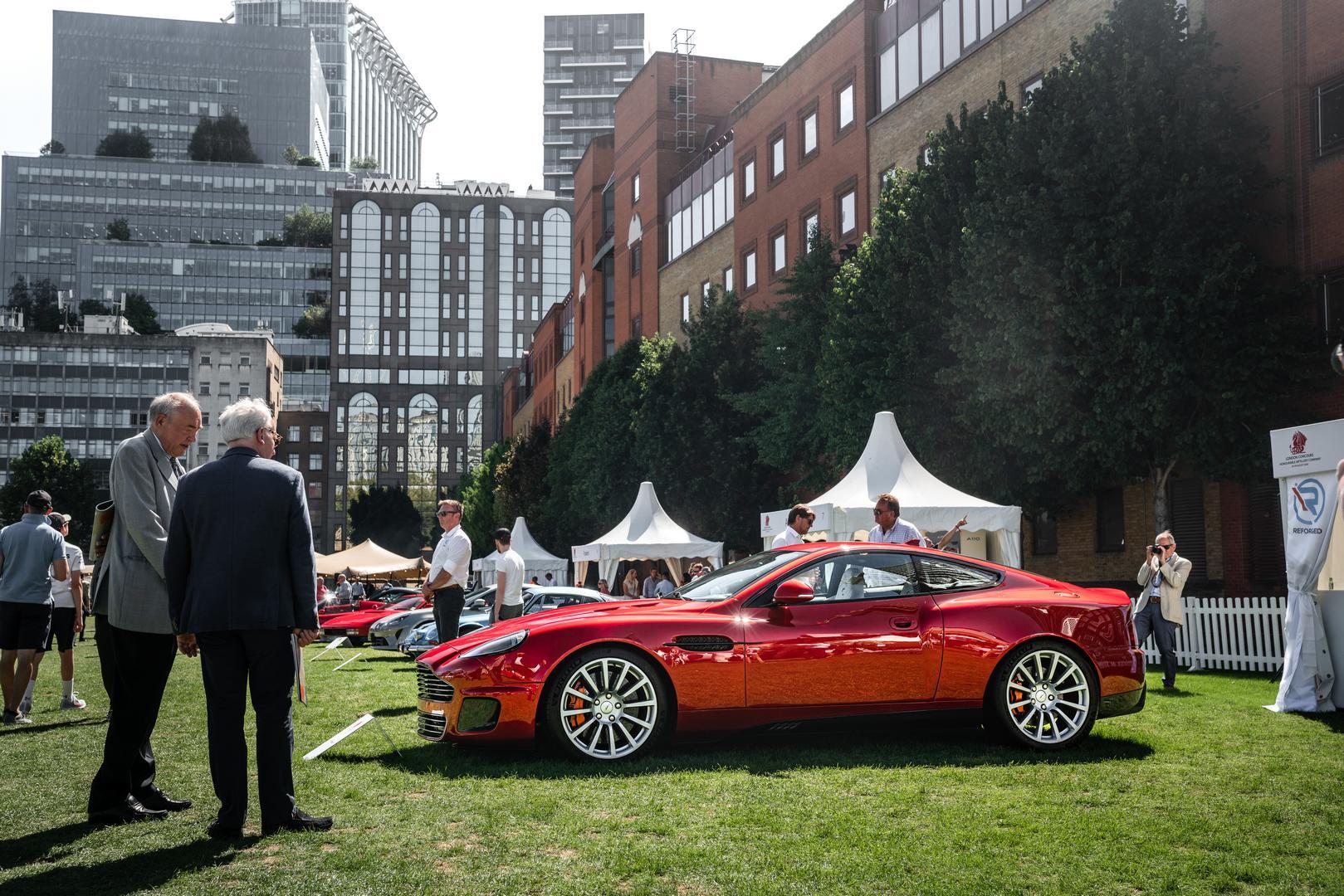 London Concours Aston Martin DB7