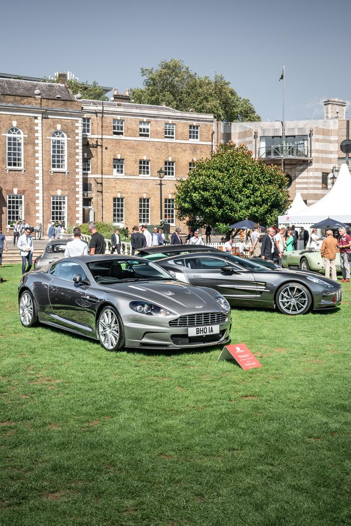 London Concours Aston Martin DBS