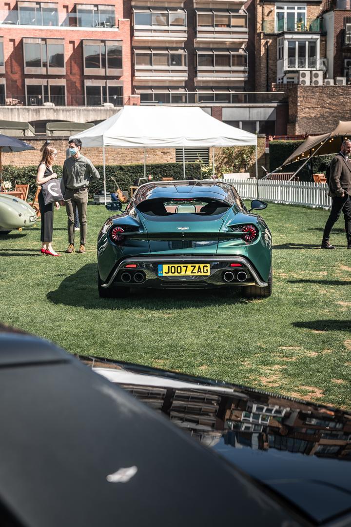 London Concours Aston Martin Zagato