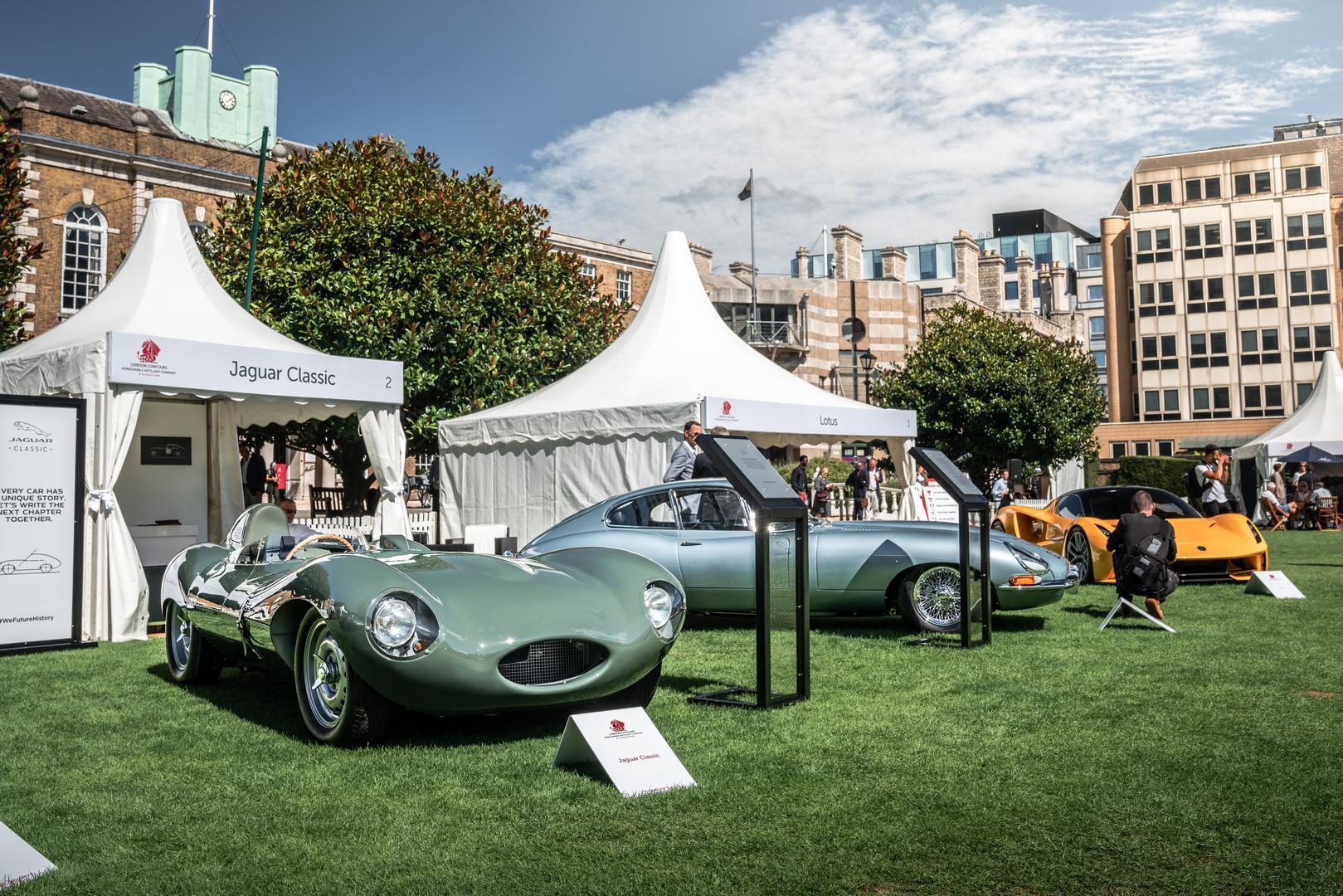 London Concours Jaguar Classics