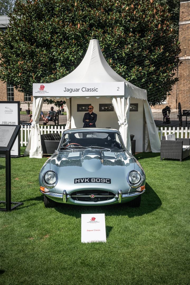 London Concours Jaguar